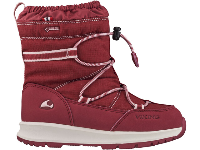 Viking Footwear Asak GTX Bottes d'hiver Enfant, dark red/red